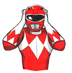 Power Rangers Facebook sticker #13