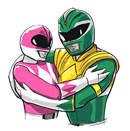 Power Rangers Facebook sticker #14