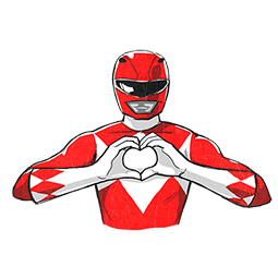 Power Rangers Facebook sticker #15