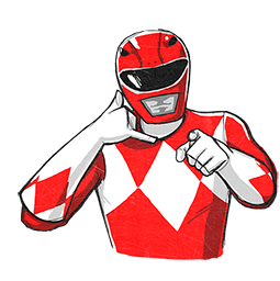 Power Rangers Facebook sticker #16