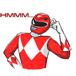 Power Rangers Facebook sticker #17