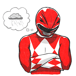 Power Rangers Facebook sticker #18