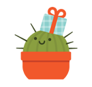 Prickly Pear Facebook sticker #4