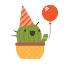 Prickly Pear Facebook sticker #8
