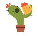 Prickly Pear Facebook sticker #10