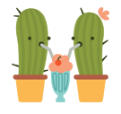 Prickly Pear Facebook sticker #11