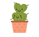Facebook / Messenger Prickly Pear Sticker #15