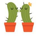 Prickly Pear Facebook sticker #16