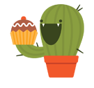 Prickly Pear Facebook sticker #18