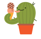 Prickly Pear Facebook sticker #19