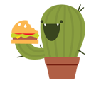 Prickly Pear Facebook sticker #20