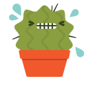 Prickly Pear Facebook sticker #22