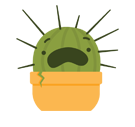 Prickly Pear Facebook sticker #23