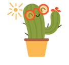 Prickly Pear Facebook sticker #24