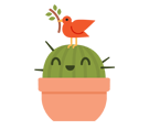 Prickly Pear Facebook sticker #27