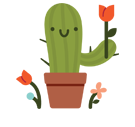 Prickly Pear Facebook sticker #30