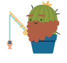 Prickly Pear Facebook sticker #33