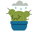 Prickly Pear Facebook sticker #34