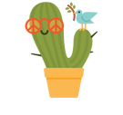 Prickly Pear Facebook sticker #36