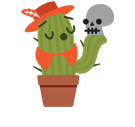 Prickly Pear Facebook sticker #37