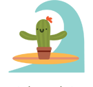 Prickly Pear Facebook sticker #41