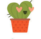 Prickly Pear Facebook sticker #42