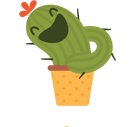 Prickly Pear Facebook sticker #43