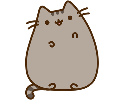 Pusheen Facebook sticker #1