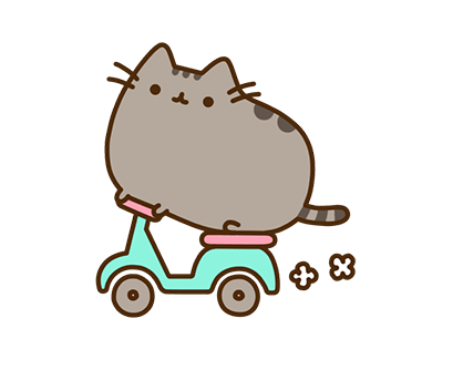 Pusheen Facebook sticker #2