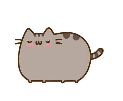 Pusheen Facebook sticker #5