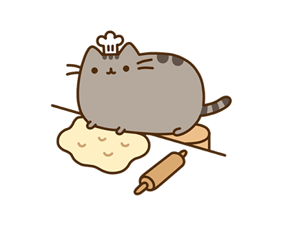 Pusheen Facebook sticker #6