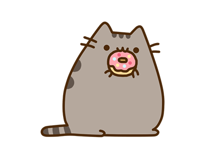 Pusheen Facebook sticker #7