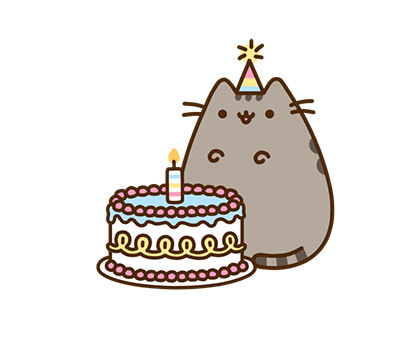 Pusheen Facebook sticker #8