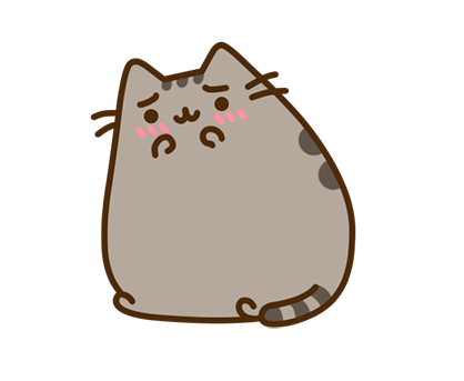 Pusheen Facebook sticker #9