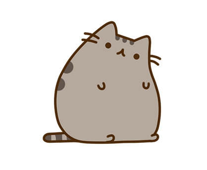 Pusheen Facebook sticker #10