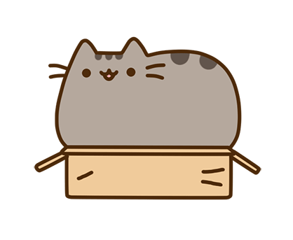 Pusheen Facebook sticker #11