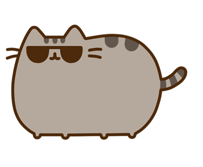 Pusheen Facebook sticker #13