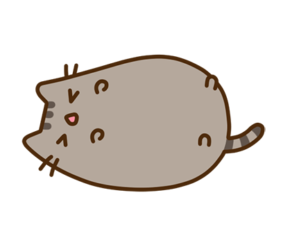 Pusheen Facebook sticker #14