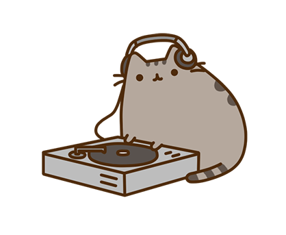 Pusheen Facebook sticker #15