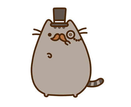 Pusheen Facebook sticker #16