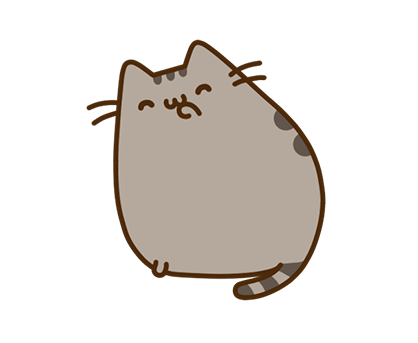 Pusheen Facebook sticker #18