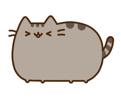 Pusheen Facebook sticker #19