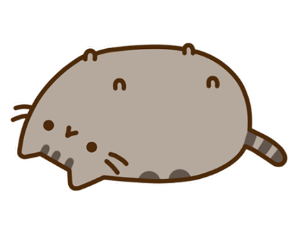 Pusheen Facebook sticker #20