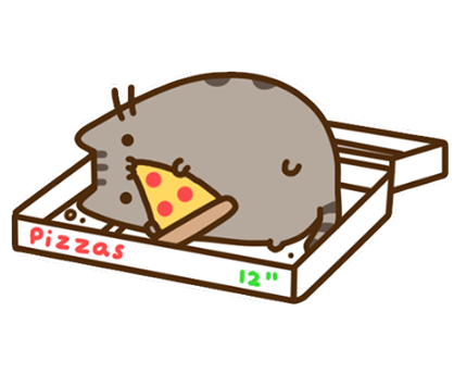 Pusheen Facebook sticker #23