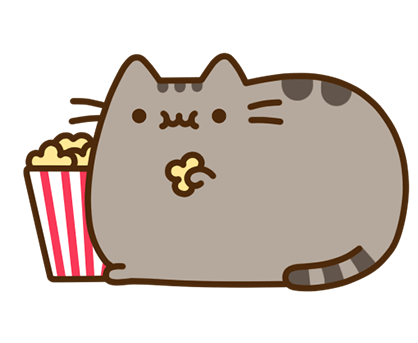 Pusheen Facebook sticker #24