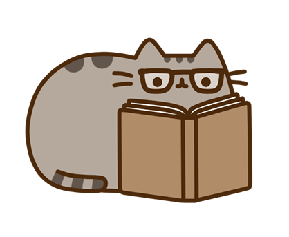Pusheen Facebook sticker #25