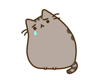 Pusheen Facebook sticker #26