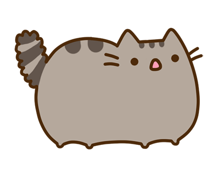 Pusheen Facebook sticker #27