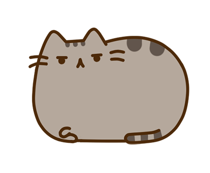 Стикер Facebook / Messenger Pusheen #28
