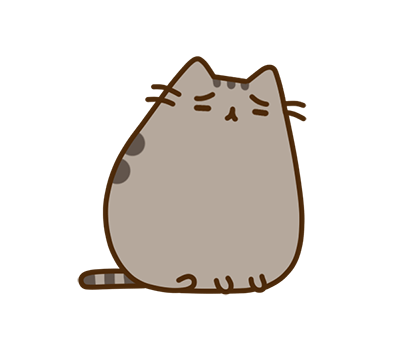Pusheen Facebook sticker #29